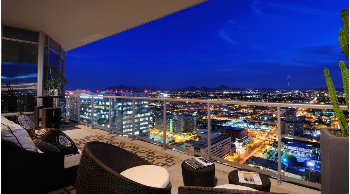 Downtown Penthouse Apartments For Rent In Phoenix AZ Scottsdale Condo Lofts
