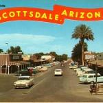 Scottsdale Vintage Postcard