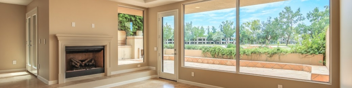 Gainey Ranch Condo Living Room and Golf Course View